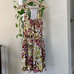 Bar 3 floral sleeveless dress